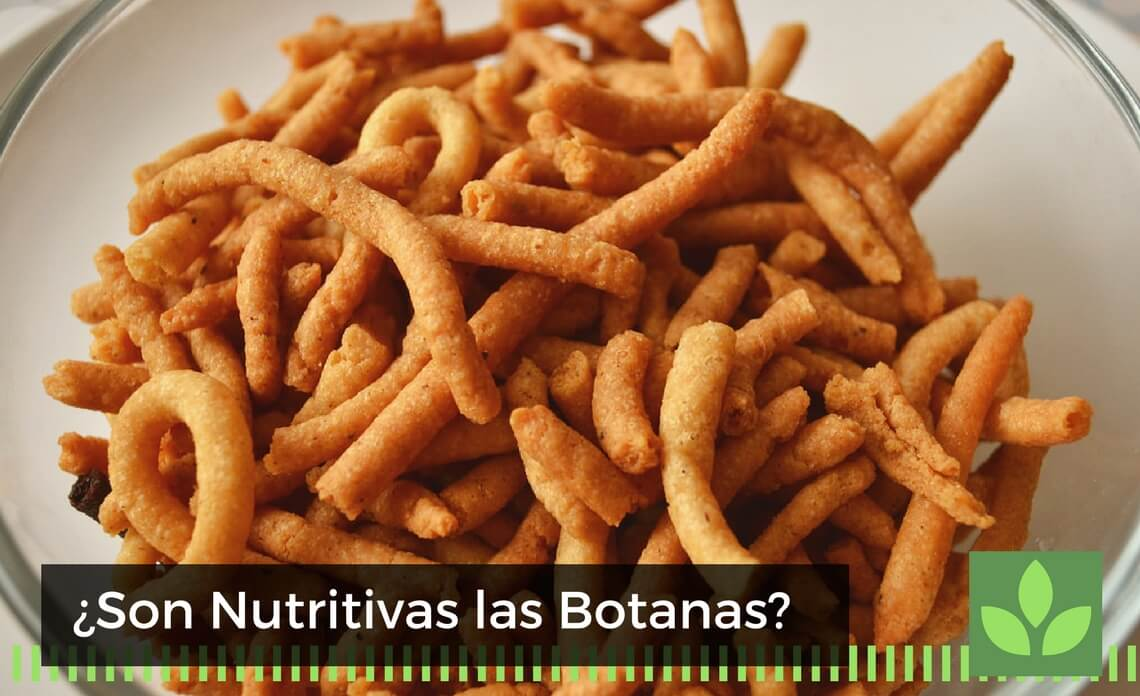botanas nutritivas
