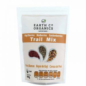 Trail mix: Goji berry, mulberry, goldenberry marca Earth Co Organics